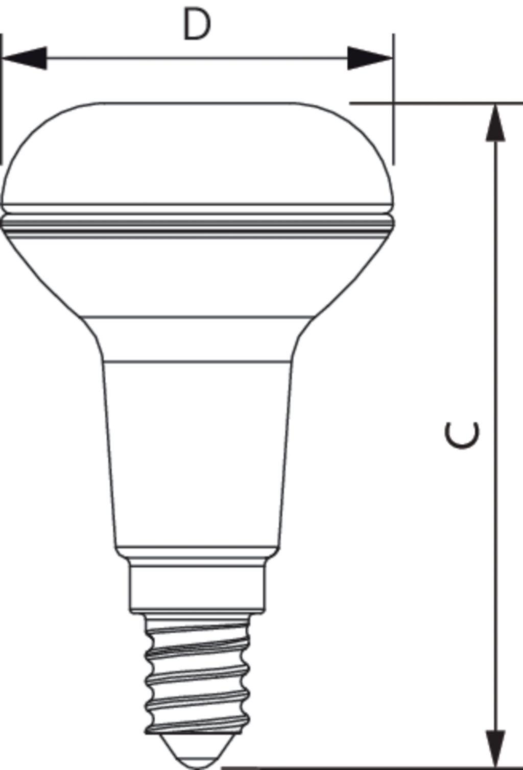 Philips CorePro LEDspot D 4.3-60W R50 E14 827 36D